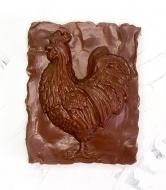 Шоколадный Петух 7,5х6х2см (142)