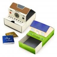 Оригинальные коробочки шоколада с логотипом