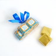 Пакетик с бантиком 5 конфет с Лого по 15 грамм