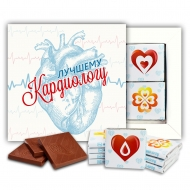 Кардиологу шоколадный набор (м142)