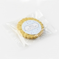 Печенье 1 шт. с брендированной наклейкой