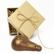 Шоколадная Лампочка 9,5х6х3 см (086)