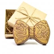 Шоколадный Галстук Бабочка 9х6х2см (090)