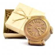 Шоколадные Часы 7,5х7х1,5 см (092)