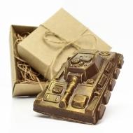 Шоколадный Танк 9х6х2 см (101)