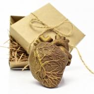 Шоколадное Сердце 6х4,5х2 см (136)