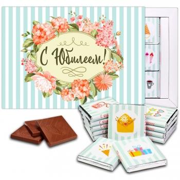 С юбилеем шоколадный набор (719с)