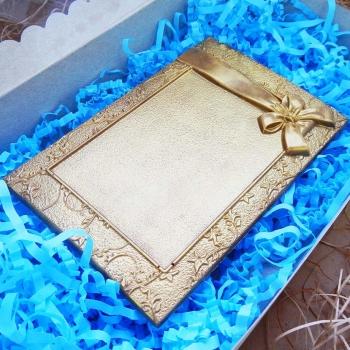 Шоколадная Рамка с Бантиком 15х10х0,8см (158)