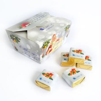 Шоколадный Набор с Лого 27 конфет по 15 грамм