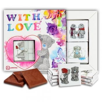 С любовью. With love шоколадный набор (м055)