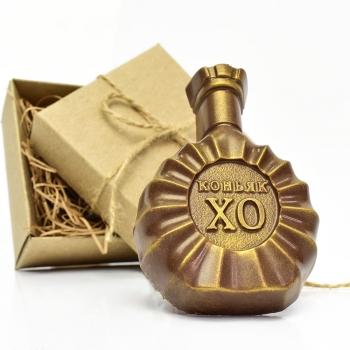Шоколадная Бутылка Коньяка 10х7х2 см (091)