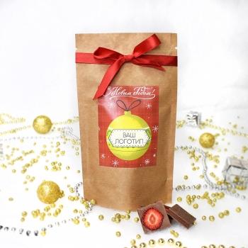 Вкусовые шоколадки 5 г в крафтовом пакете