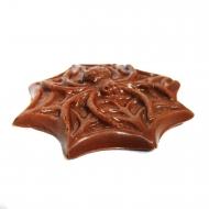 Шоколадный Паук 9х9х1см (053)