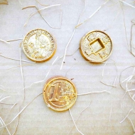 Шоколадные Монеты 3шт в наборе (117)