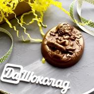 Шоколадный Гномик 9х7,5х1см (155)