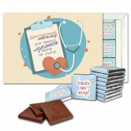 Докторский шоколад шоколадный набор (с026)