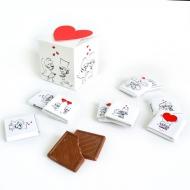 Кубик с Лого 9 шоко по 5 грамм