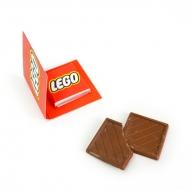 Мини Открытка с Лого 1 шоко по 5 грамм