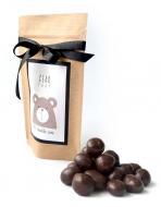 Грецкий орех в молочной шоко глазури с Лого на Крафтовом пакете, 135 грамм