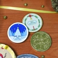Медали с Лого 6 г Наклейка (39 мм)