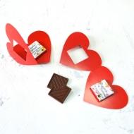 Сердце с шоколадкой