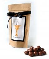 Вафельное Драже с Лого на Крафтовом пакете, 135 грамм