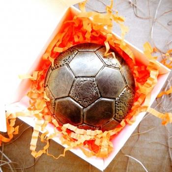 Шоколадный Футбольный Мяч 7,5х7,5х0,5см (044)