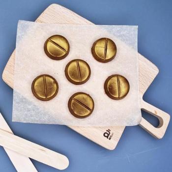 Шоколадные Таблетки 6 шт. в наборе (082)