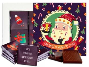 Сладкого Нового года! Шоколадный набор (м208)