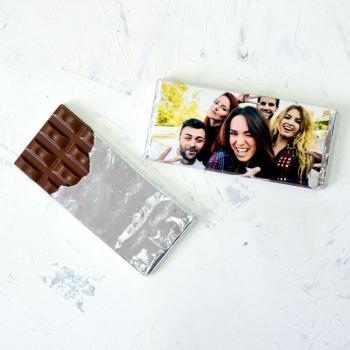 Нежнейший шоколад 90 грамм с Вашим Фото