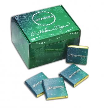 Набор шоколадок в коробке 20 плиток по 5 грамм