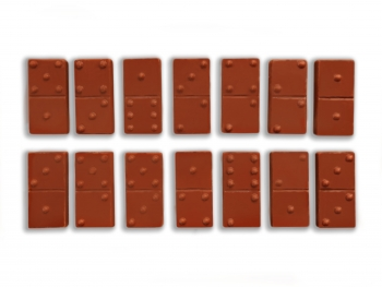 Шоколадное Домино 17х9х0,5см (119)