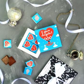 Шоколадный подарок «С Днем Свадьбы»