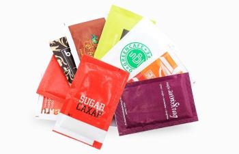 Сахар с логотипом пакетики 5г