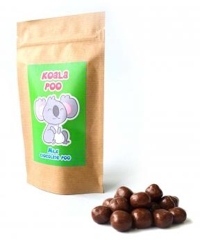 Вишня в шоко глазури с Лого на Крафтовом пакете, 135 грамм